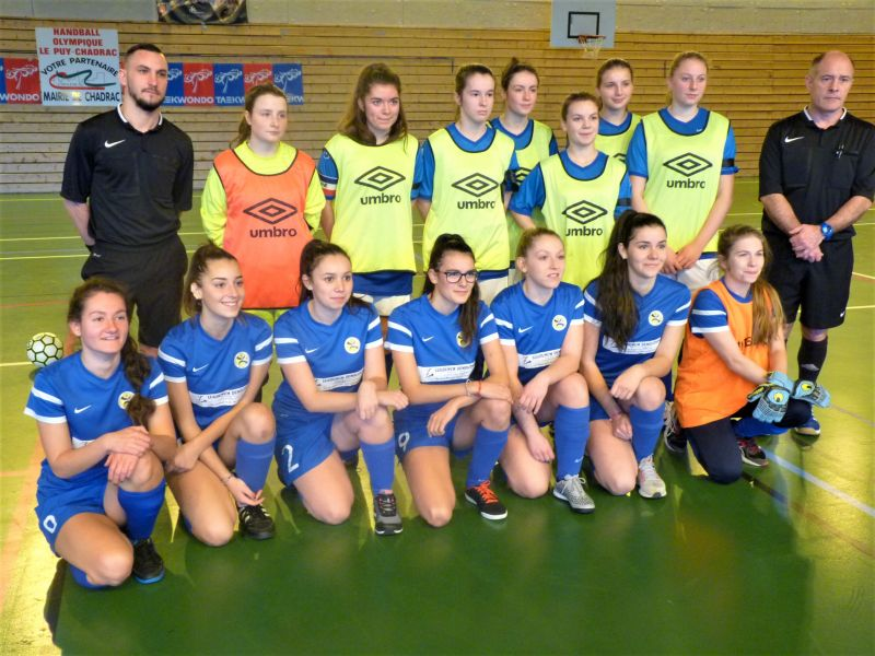 Finale d partementale futsal f minine et u14 f district for Haute loire fff